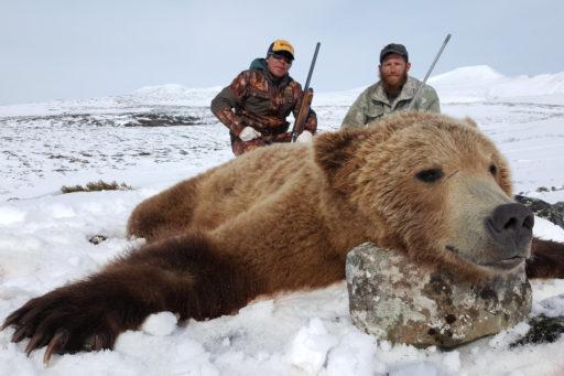 Kamchatka Trophy Hunts - spring brown bear hunts