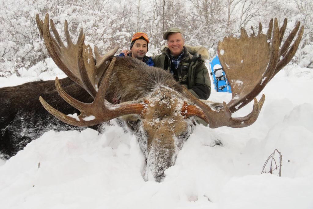 kamchatka trophy hunts winter moose hunts